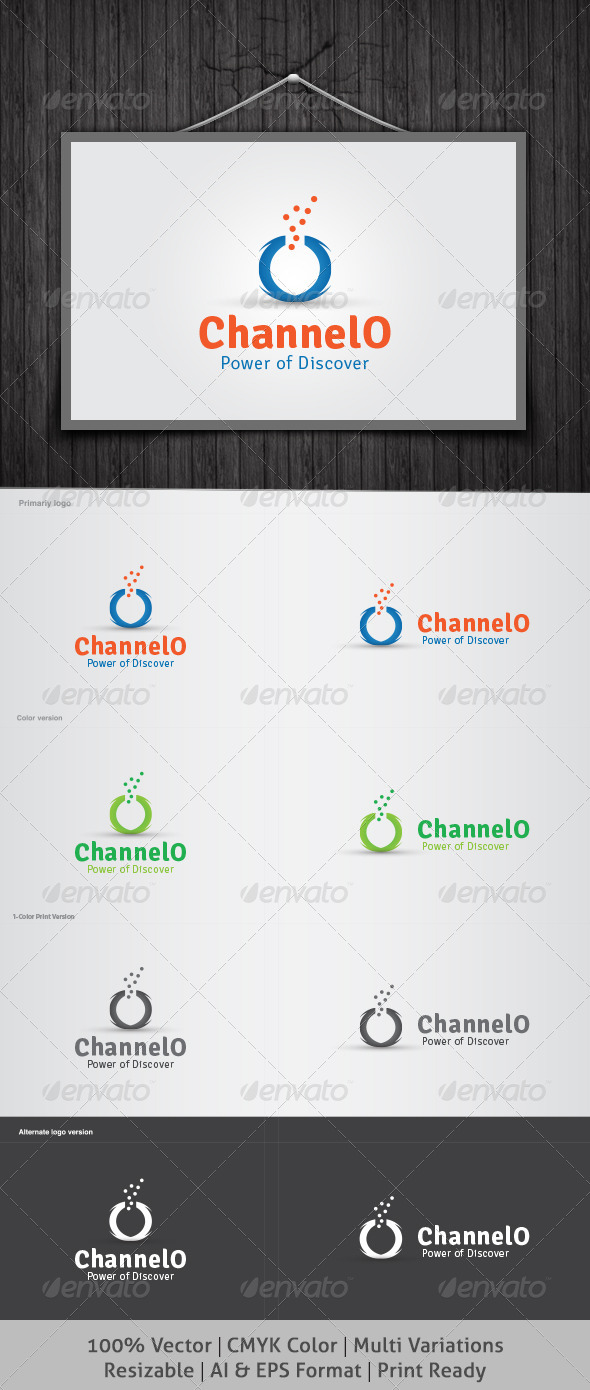 ChannelO Logo - Letters Logo Templates