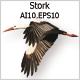 Stork - GraphicRiver Item for Sale