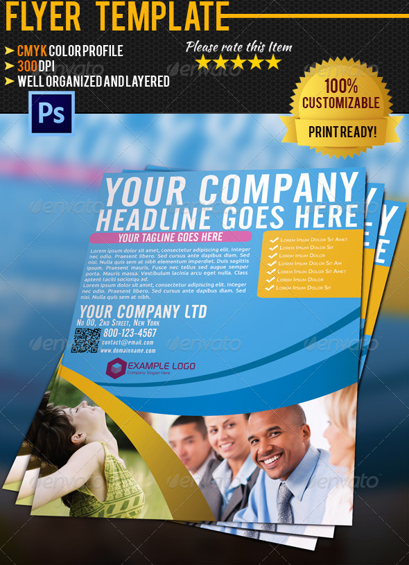 Corporate Business Flyer 007 - Corporate Flyers