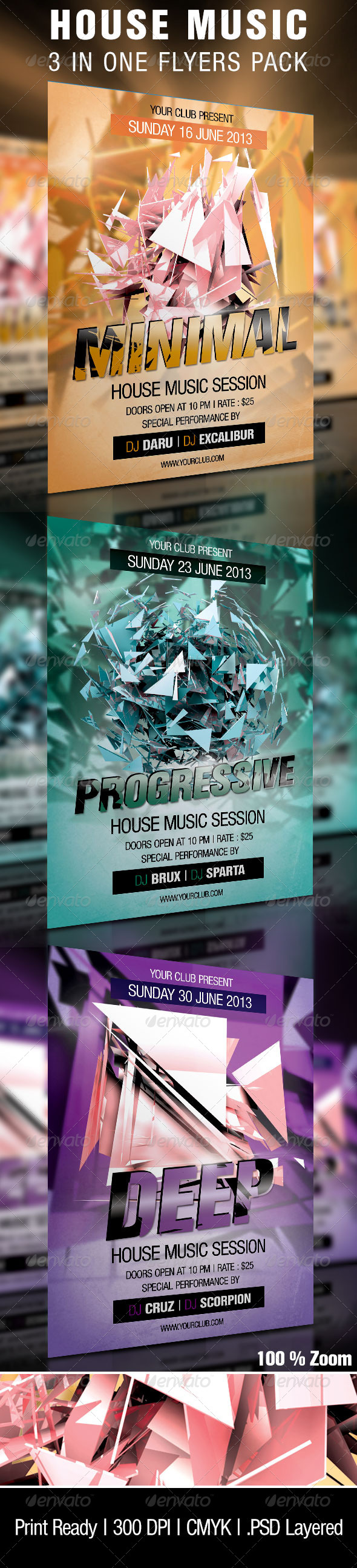 House Music Sessions Party - Clubs & Parties Events