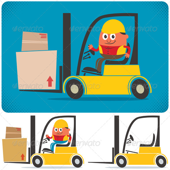 Forklift Driver - Technology Conceptual