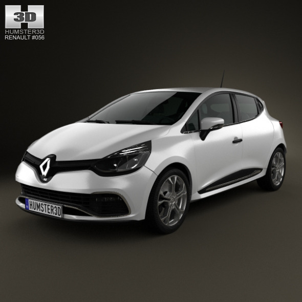 Zaktualizowano Renault Clio IV RS 2013 by humster3d | 3DOcean IG42