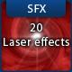 20 8bit Laser Sound Effects  - AudioJungle Item for Sale