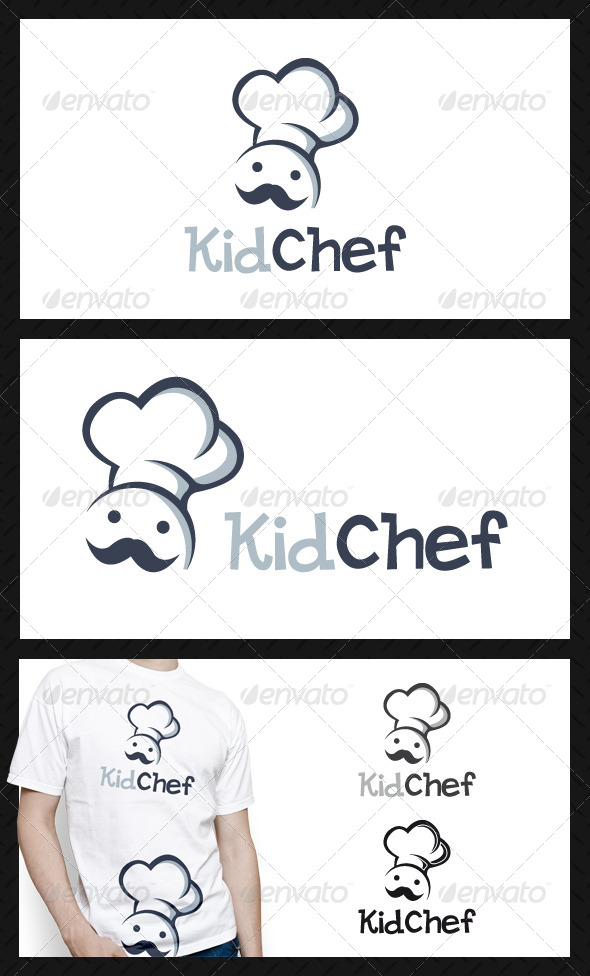 Kid Chef Logo Template - Humans Logo Templates