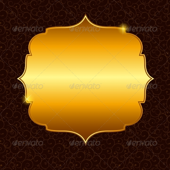 Frame in Retro Vintage Background - Backgrounds Decorative