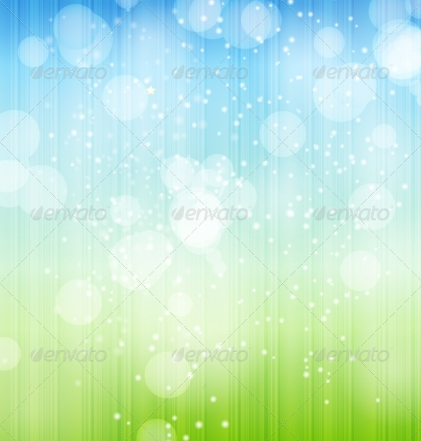 Nature Background. Vector Illustration. - Landscapes Nature