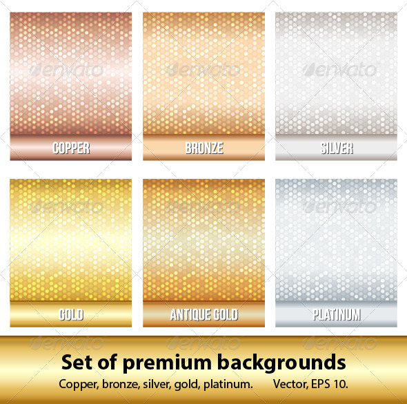 Set of 6 Premium Backgrounds. - Backgrounds Decorative