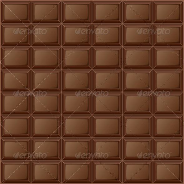 Background Chocolate Bar - Food Objects