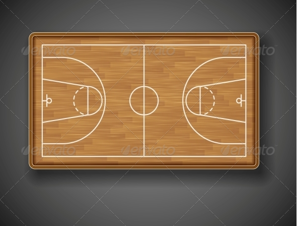 Basketball Court - Sports/Activity Conceptual
