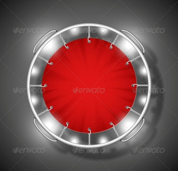 Red Trampoline - Sports/Activity Conceptual