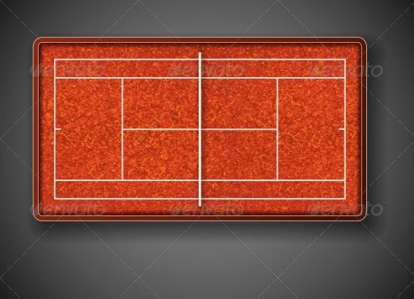 Tennis Court - Sports/Activity Conceptual