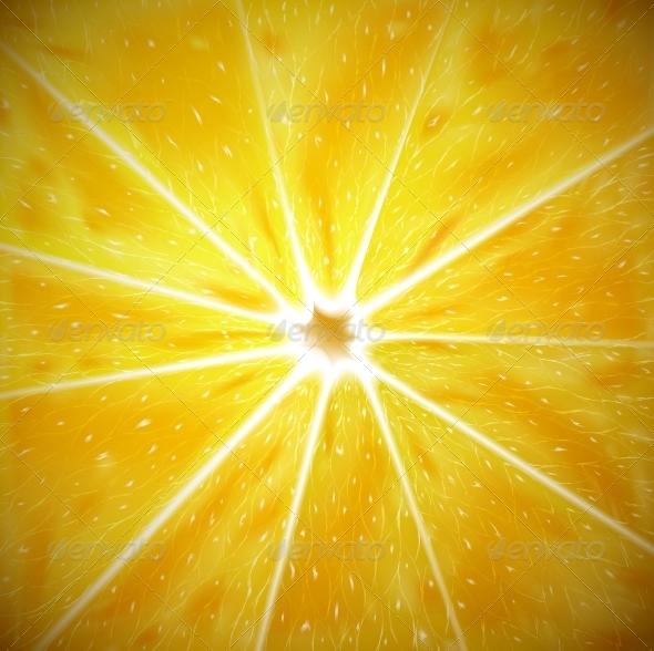 Lemon Background - Food Objects