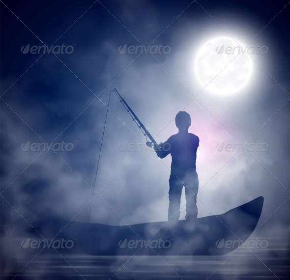 Night Fishing - People Characters