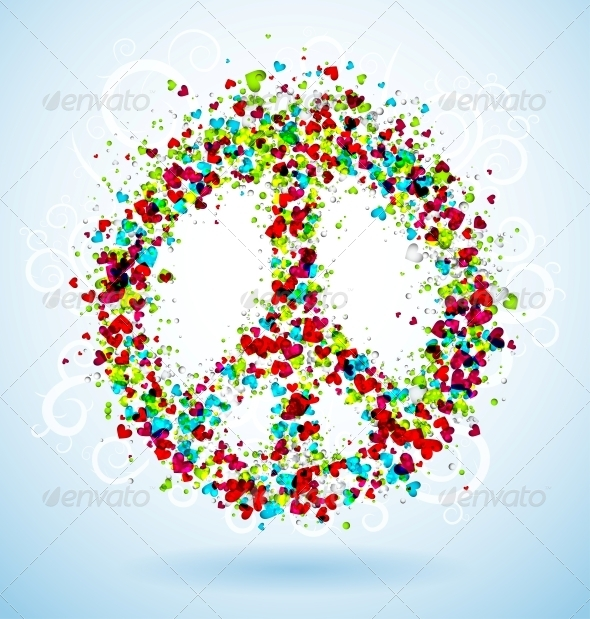 Peace Sign - Decorative Symbols Decorative