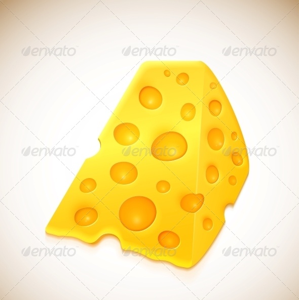 Piece of Cheese - Food Objects