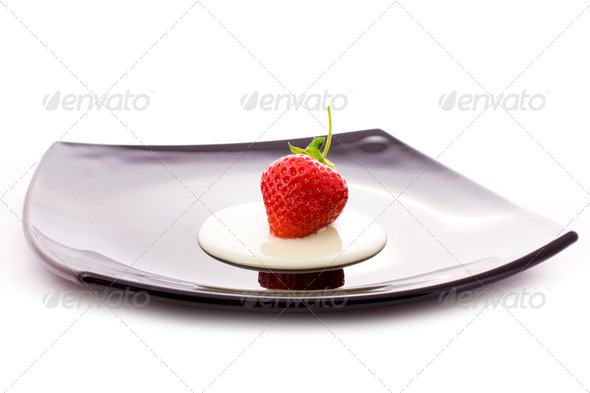 red strawberry - Stock Photo - Images