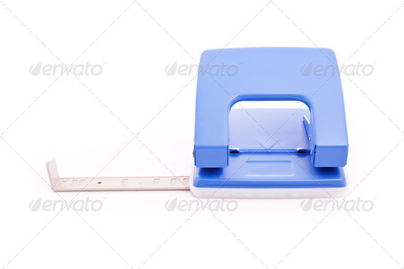 puncher isolated - Stock Photo - Images