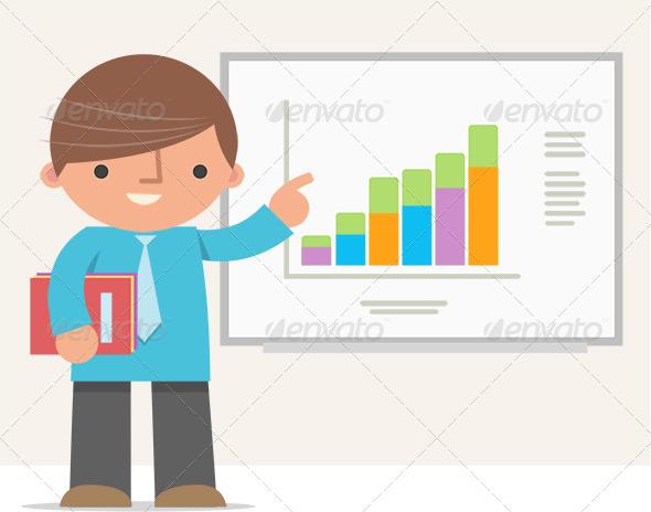 Man Presentation - Characters Vectors