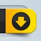 4 Unique Download Buttons - GraphicRiver Item for Sale