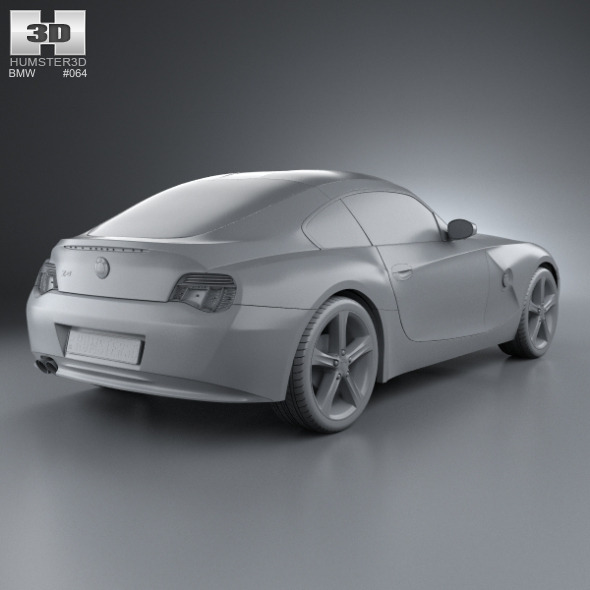 Bmw Z4 2002: BMW Z4 (E85) Coupe 2002 By Humster3d