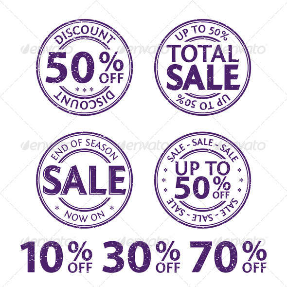 Rubber Stamps - Commercial / Shopping Conceptual