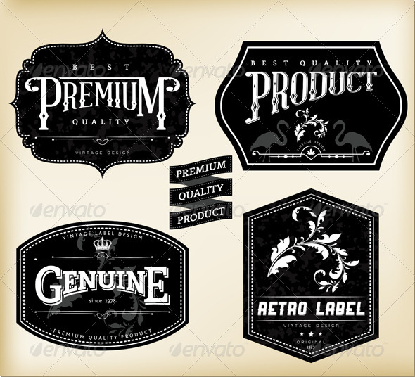 Vintage Labels Psd | www.pixshark.com - Images Galleries ...