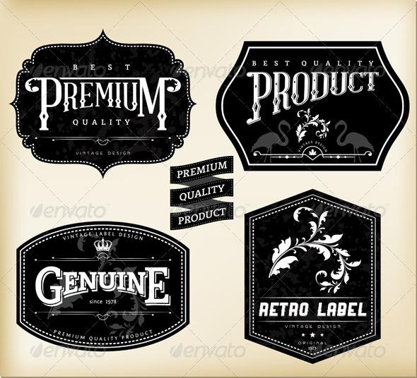 Retro Labels - Retro Technology