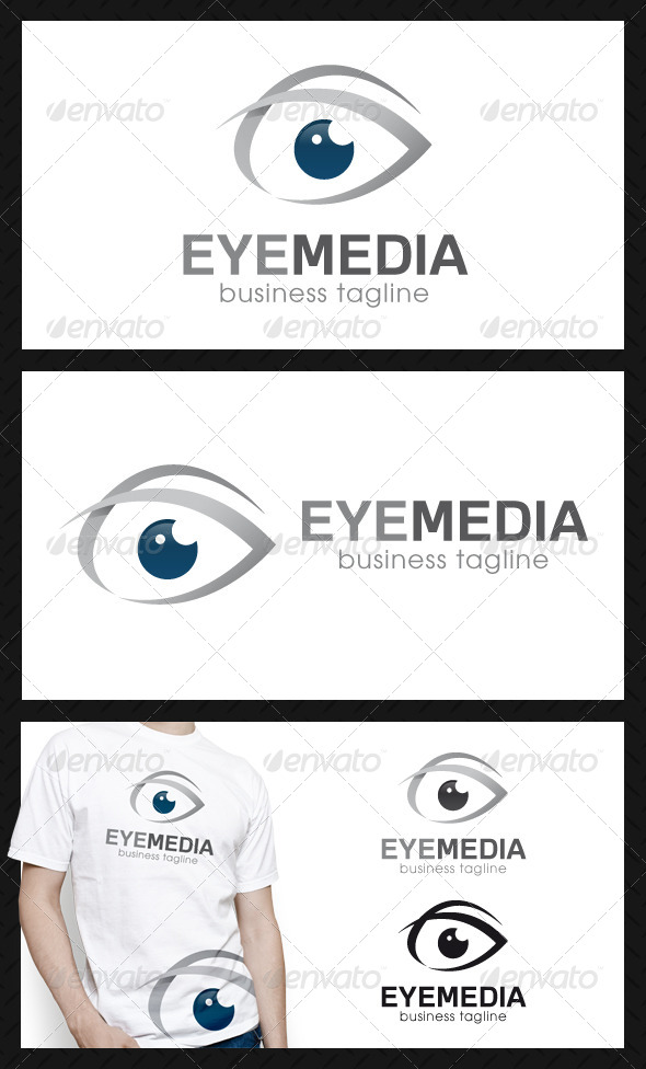 Eye Media Logo Template - Symbols Logo Templates