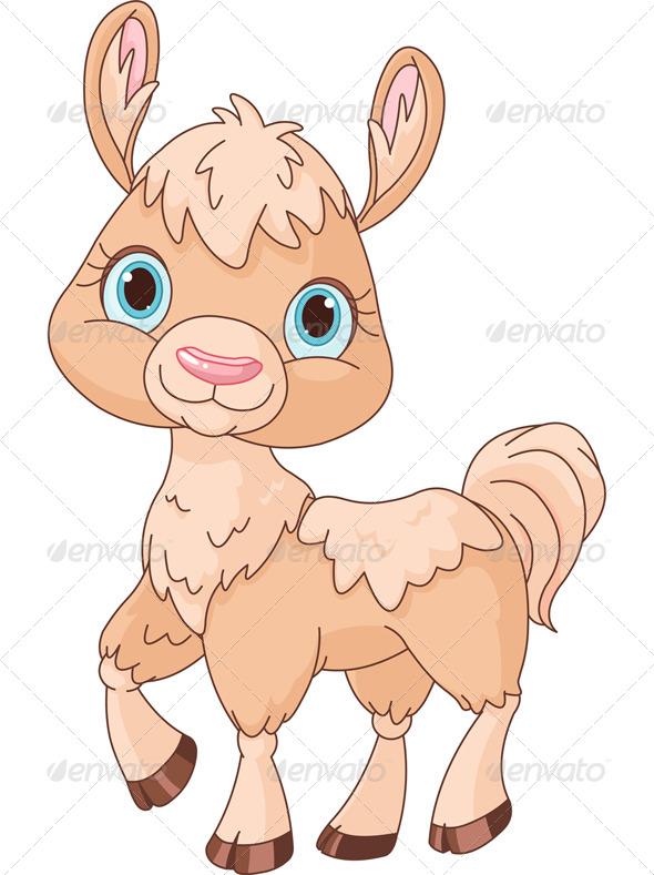 Llama - Animals Characters