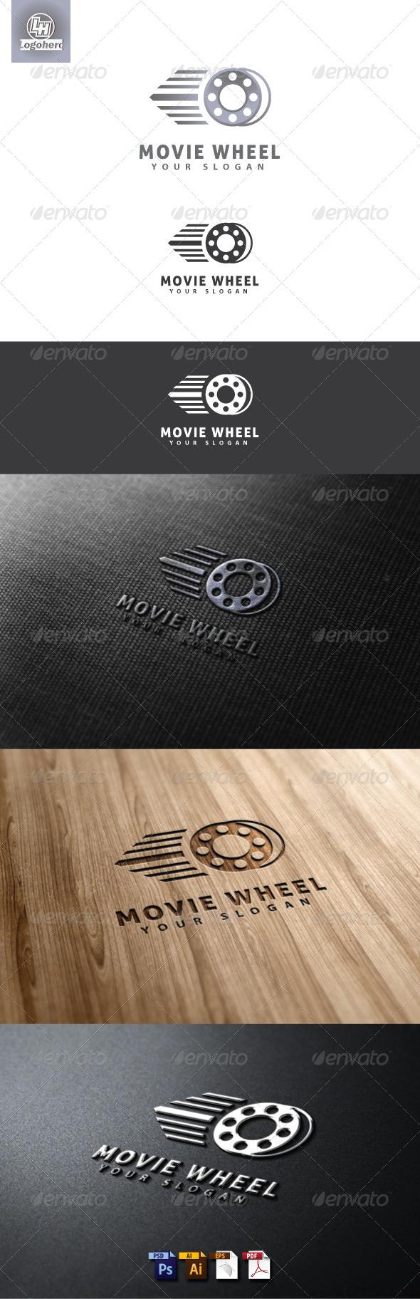 Movie Wheel Logo Template - Objects Logo Templates