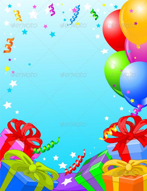Birthday Party Card - Birthdays Seasons/Holidays