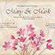 Floral Decorative Wedding or Invitation Design - GraphicRiver Item for Sale