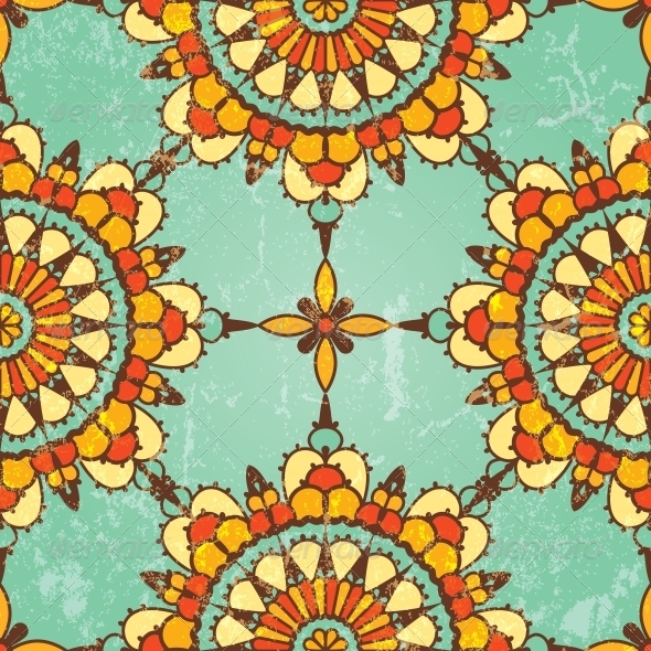 Ornamental Seamless Pattern. - Patterns Decorative