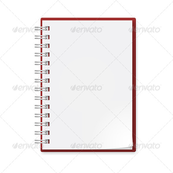 Realistic Notebook - Computers Technology