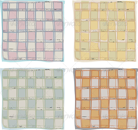 Kitchen Tablecloth Pattern Various Colours - Patterns Decorative