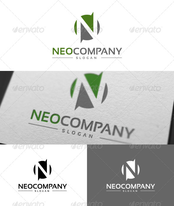 Neo Company Logo Template - Letters Logo Templates