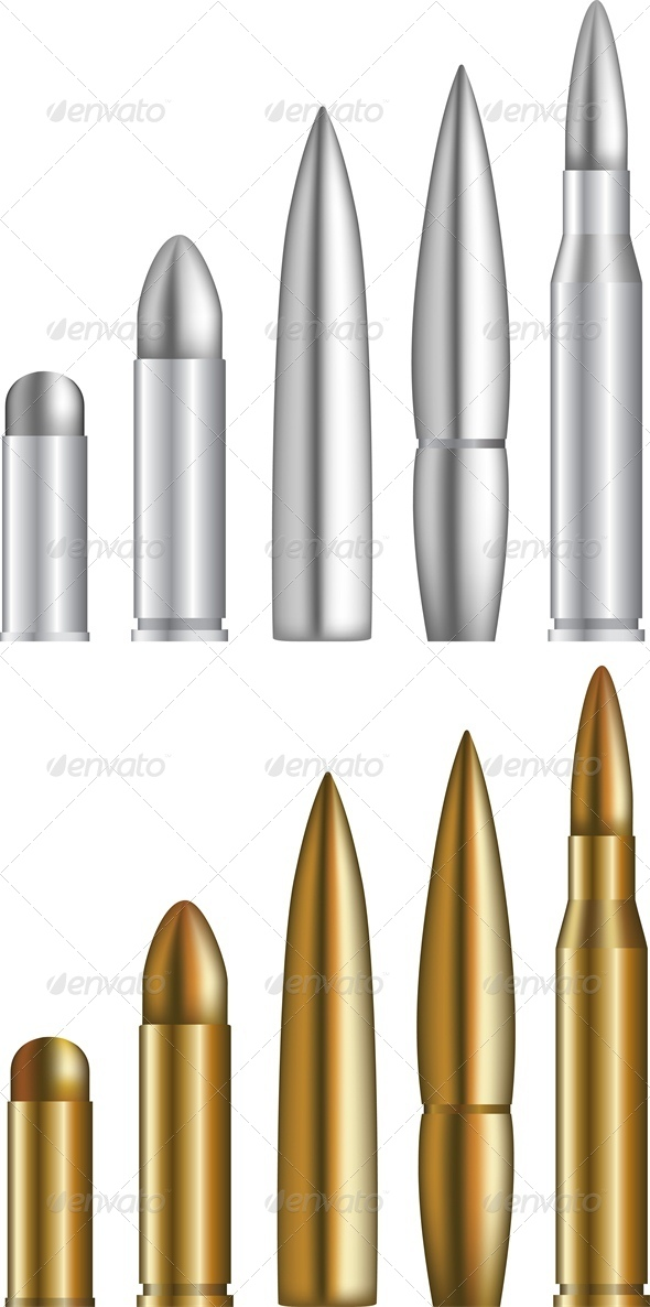Bullets - Man-made Objects Objects