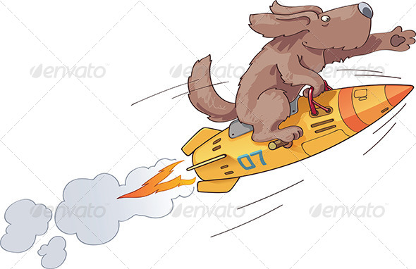 Rocket Dog - Animals Characters