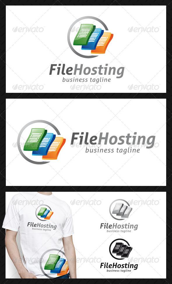 File Hosting Logo Template - Symbols Logo Templates