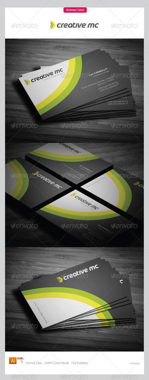 Corporate Business Cards 309 - Corporate Business Cards