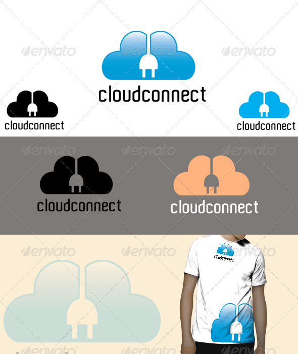 cloud connect Logo  - Symbols Logo Templates