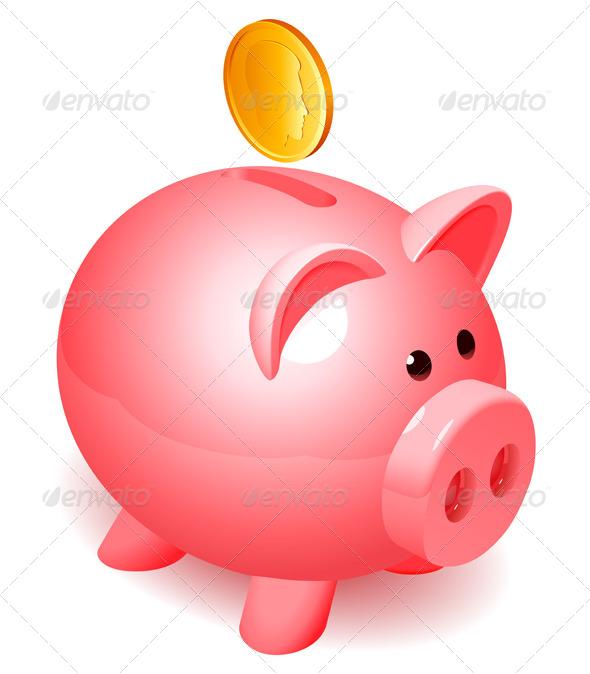 Piggy Bank - Business Conceptual