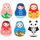 Matryoshka Russian Doll and Panda - GraphicRiver Item for Sale