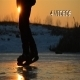 Ice Skater in Sunset 1 - 4 Videos - VideoHive Item for Sale