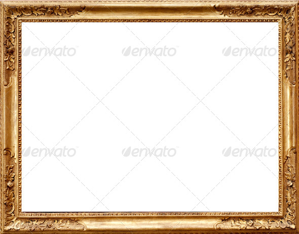 Painting Frame - Stock Photo - Images