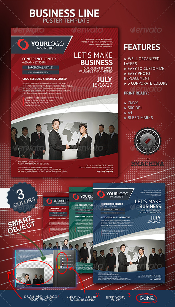 Lets make business poster template by bmachina graphicriver lets make business poster template corporate flyers friedricerecipe Gallery