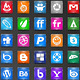 49 Candy 3D Social Icons - GraphicRiver Item for Sale