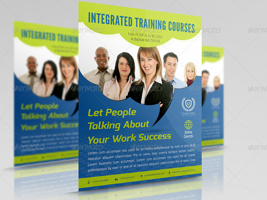 corporate training flyer vol 7 by owpictures