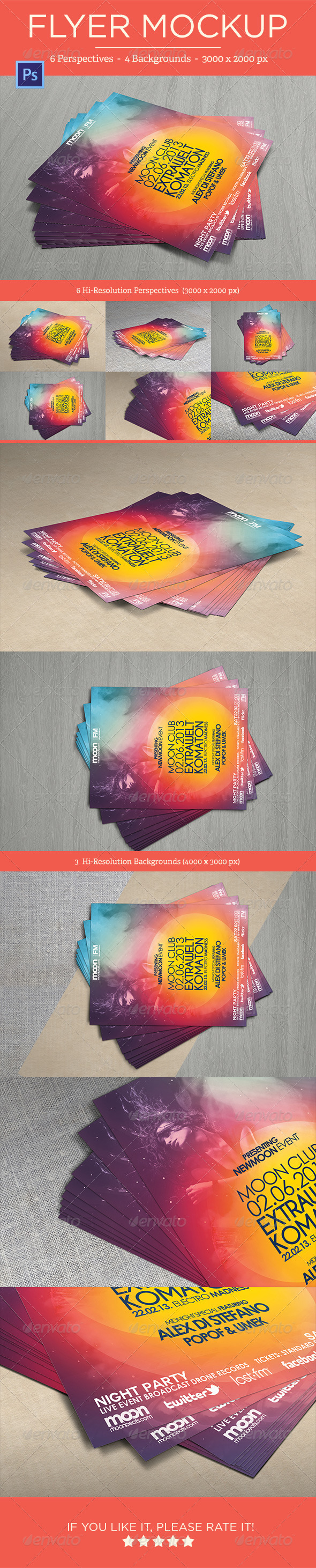 Flyer Mock-Ups - Vol. 1 - Flyers Print