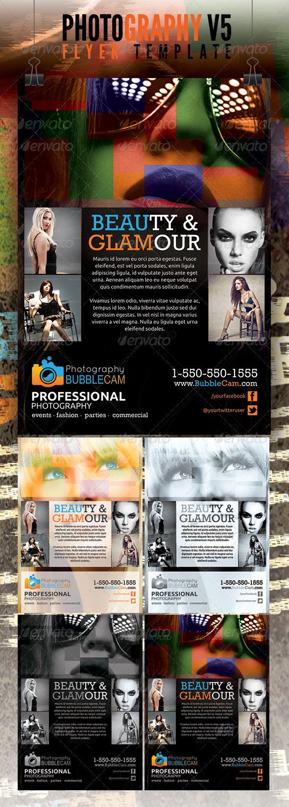 Photography Flyer v5 - Commerce Flyers